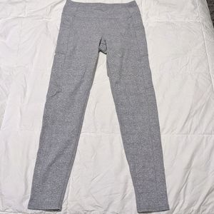 KYODAN Heathered Grey and White Leggings
